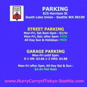 Hurry Curry SLU Parking